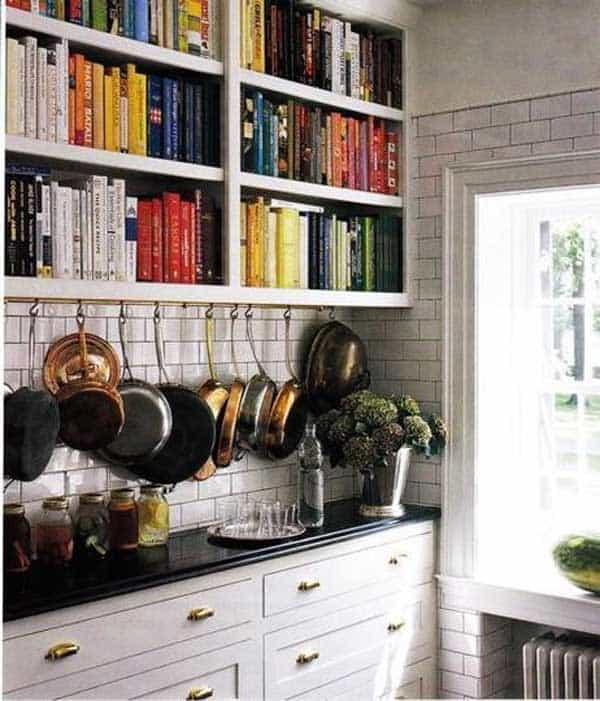 24 Insanely Beautiful Wall Bookshelves For Enthusiast Readers homesthetics decor (5)