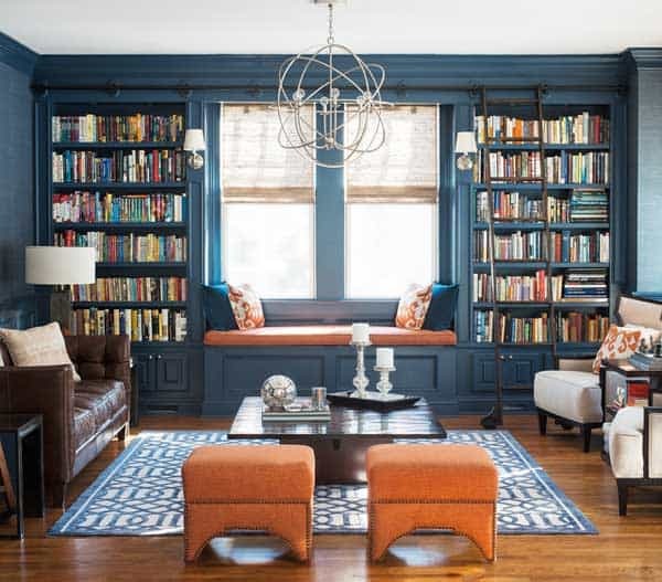 24 Insanely Beautiful Wall Bookshelves For Enthusiast Readers homesthetics decor (9)