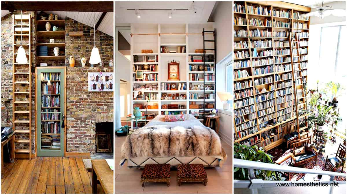 24 insanely beautiful wall bookshelves for enthusiast readers for House decoration images
