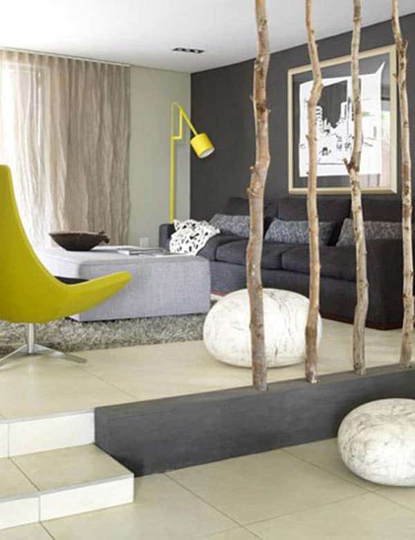24 Mesmerizing Creative DIY Room Dividers Able to Reshape Your Space homesthetics ideas (1)