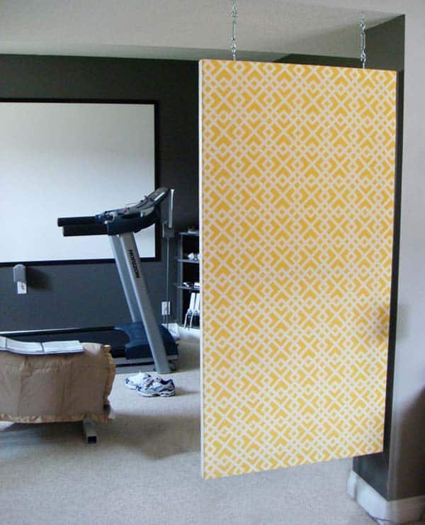 24 Mesmerizing Creative DIY Room Dividers Able to Reshape Your Space homesthetics ideas (29)