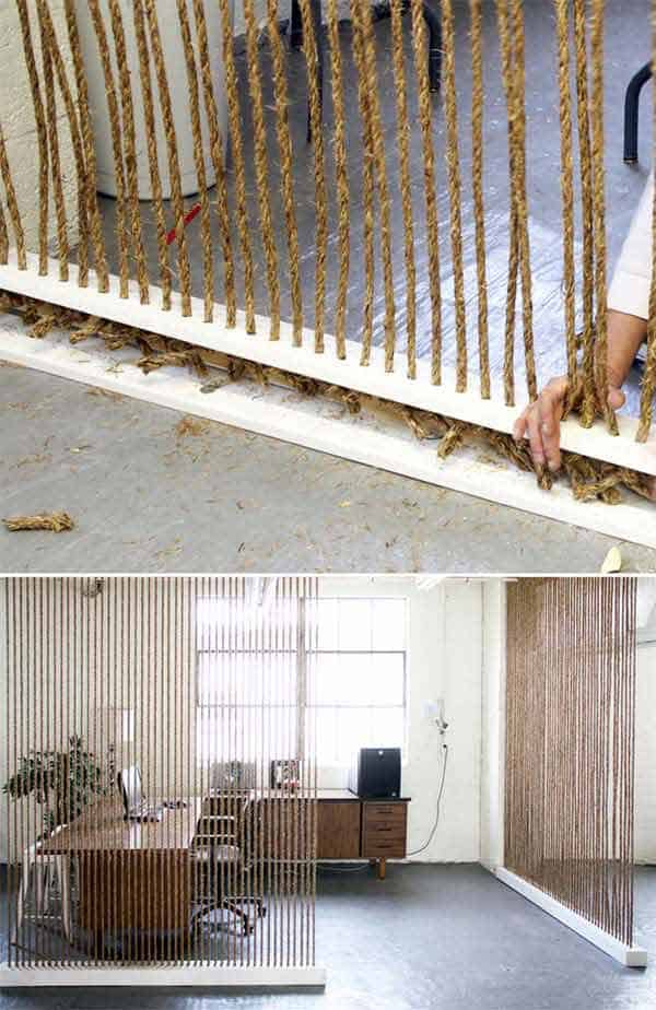 24 Mesmerizing Creative DIY Room Dividers Able to Reshape Your Space homesthetics ideas (7)