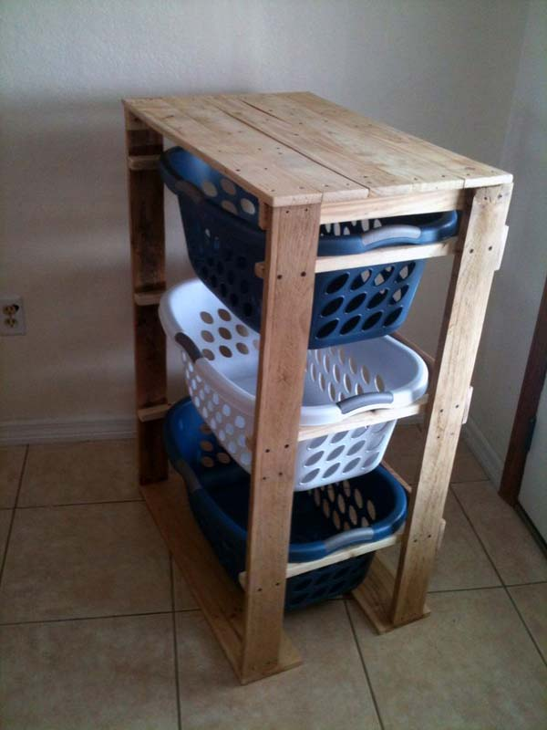 25 Beautiful Cheap Pallet DIY Storage Projects to Realize With Ease homesthetics projects and crafts (17)