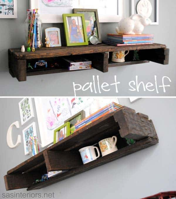 25 Beautiful Cheap Pallet DIY Storage Projects to Realize With Ease homesthetics projects and crafts (18)