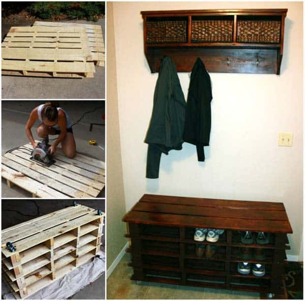 25 Beautiful Cheap Pallet DIY Storage Projects to Realize With Ease homesthetics projects and crafts (20)