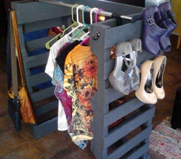 25 Beautiful Cheap Pallet DIY Storage Projects to Realize With Ease homesthetics projects and crafts (6)