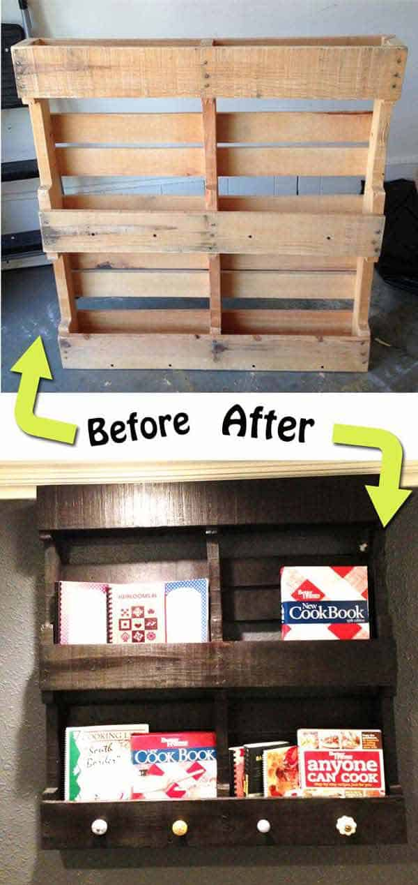 25 Beautiful Cheap Pallet DIY Storage Projects to Realize With Ease homesthetics projects and crafts (7)