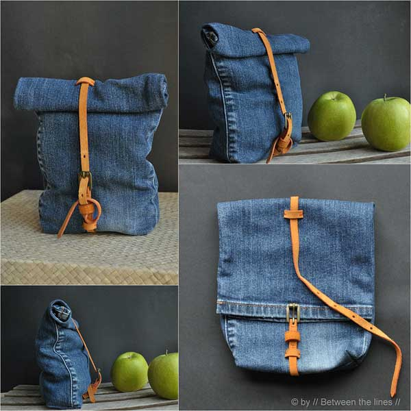 25 Unusual Cool Ways to Upcycle Old Denim Into DIY Projects homesthetics decor (3)
