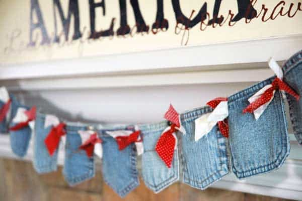25 Unusual Cool Ways to Upcycle Old Denim Into DIY Projects homesthetics decor (9)