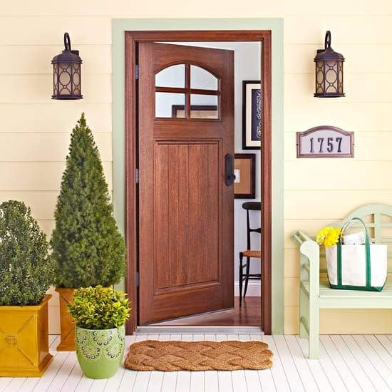 26 Mesmerizing and Welcoming Small Front Porch Design Ideas - photo#20
