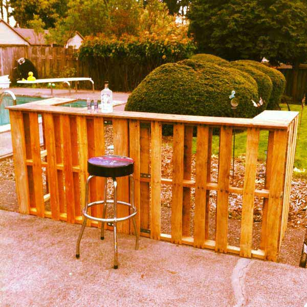 Awesome 26 Super Cool Inexpensive Outdoor Bars For Your Home Homesthetics Designs  (10)
