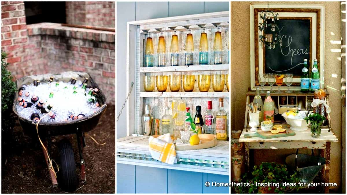 26 Super Cool Inexpensive Outdoor Bars For Your Home