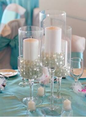 17 Do-it-yourself Elegantly Made Centerpieces For A Winter Wedding (14)