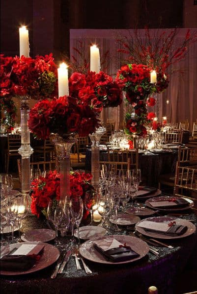 17 Do-it-yourself Elegantly Made Centerpieces For A Winter Wedding (16)