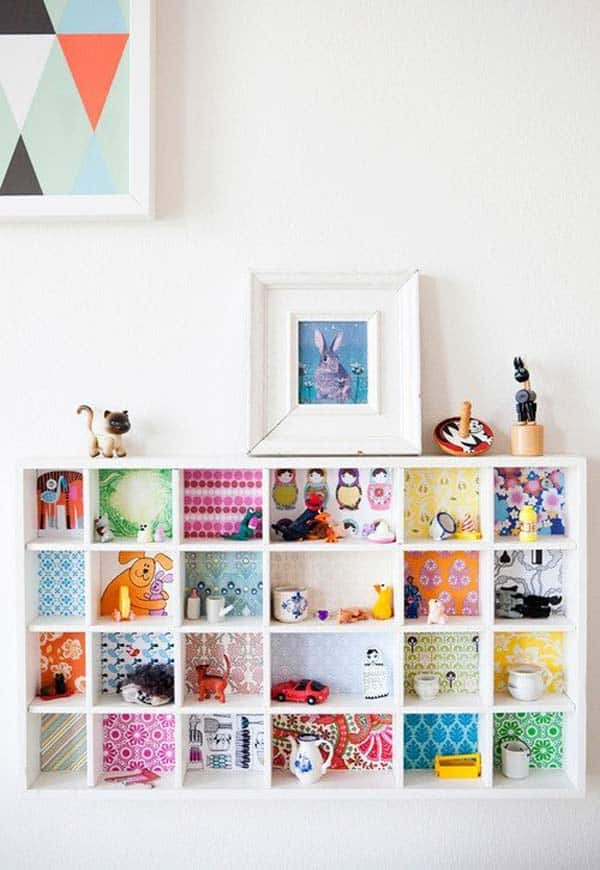 27 Super Cool Furniture Transformations Done With Wallpaper homesthetics decor (20)