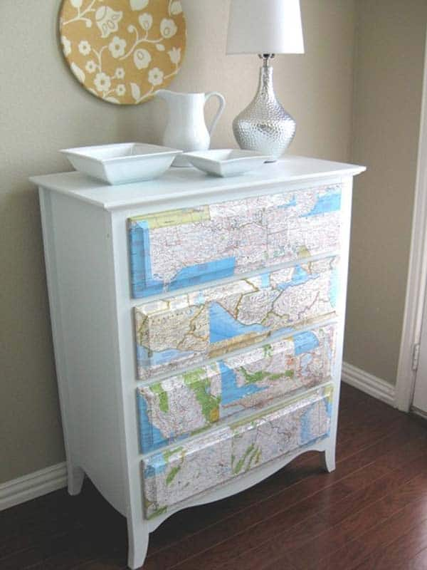 27 Super Cool Furniture Transformations Realized With Wallpaper homesthetics decor (26)