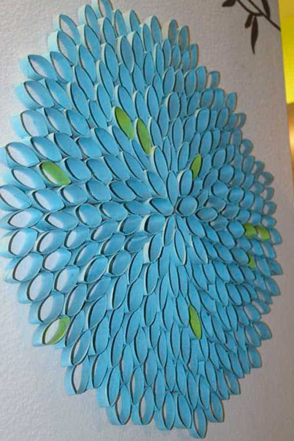 30 DIY Paper Toilet Roll Crafts That Will Beautify Your Walls homesthetics decor (10)