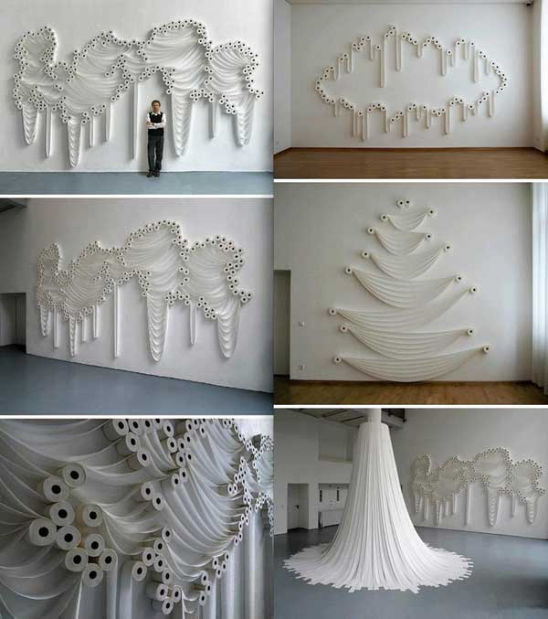 30 DIY Paper Toilet Roll Crafts That Will Beautify Your Walls homesthetics decor (16)