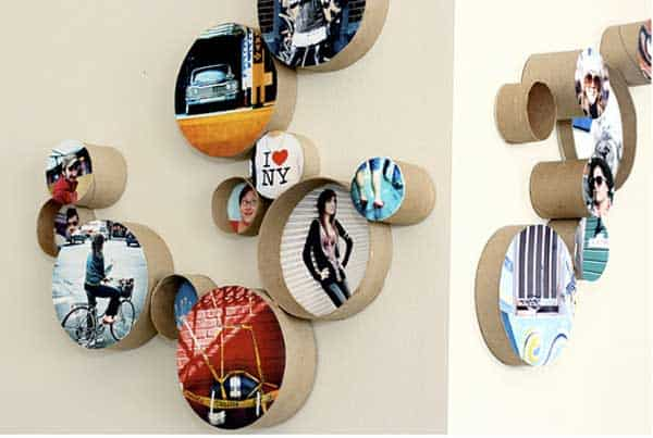 30 DIY Paper Toilet Roll Crafts That Will Beautify Your Walls homesthetics decor (6)