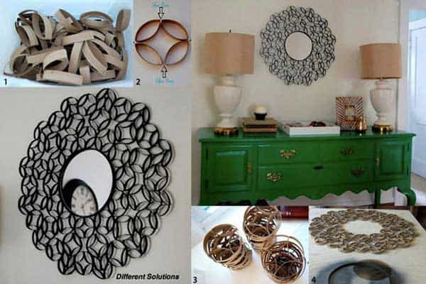 30 DIY Paper Toilet Roll Crafts That Will Beautify Your Walls homesthetics decor (8)