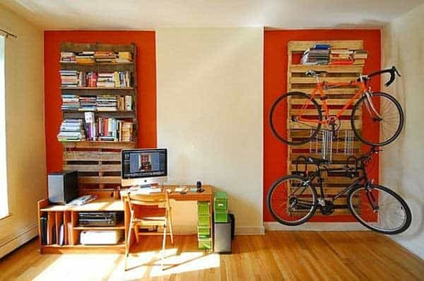 30 Design Ideas on How to Decorate With Bikes in Your Household homesthetics decor (11)