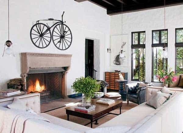 30 Design Ideas on How to Decorate With Bikes in Your Household homesthetics decor (13)