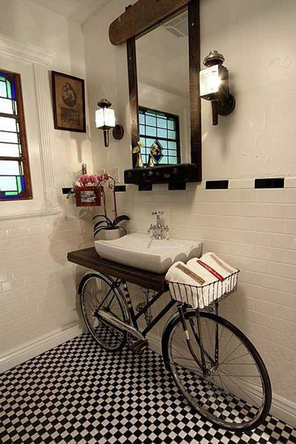 30 Design Ideas on How to Decorate With Bikes in Your Household homesthetics decor (2)