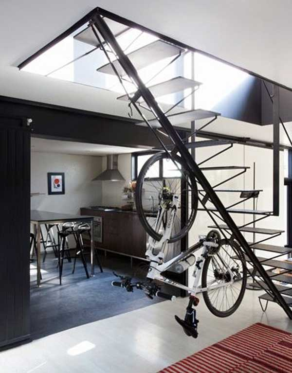 27 Design Ideas on How to Decorate With Bycicles in Your Household homesthetics decor