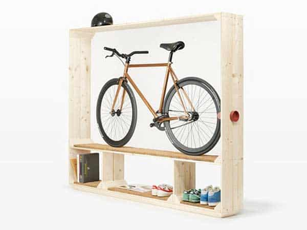 30 Design Ideas on How to Decorate With Bikes in Your Household homesthetics decor (6)