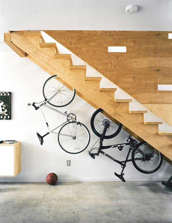 30 Design Ideas on How to Decorate With Bikes in Your Household homesthetics decor (7)