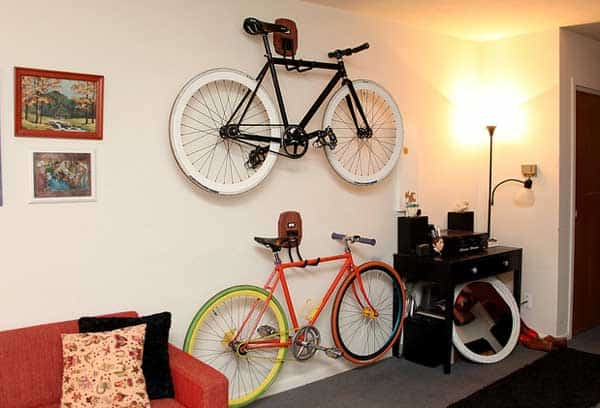 30 Design Ideas on How to Decorate With Bikes in Your Household homesthetics decor (8)