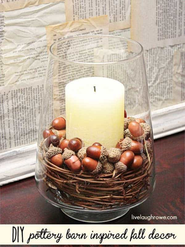 30 Magical DIY Fall Decorations For Your Household homesthetics ideas (1)