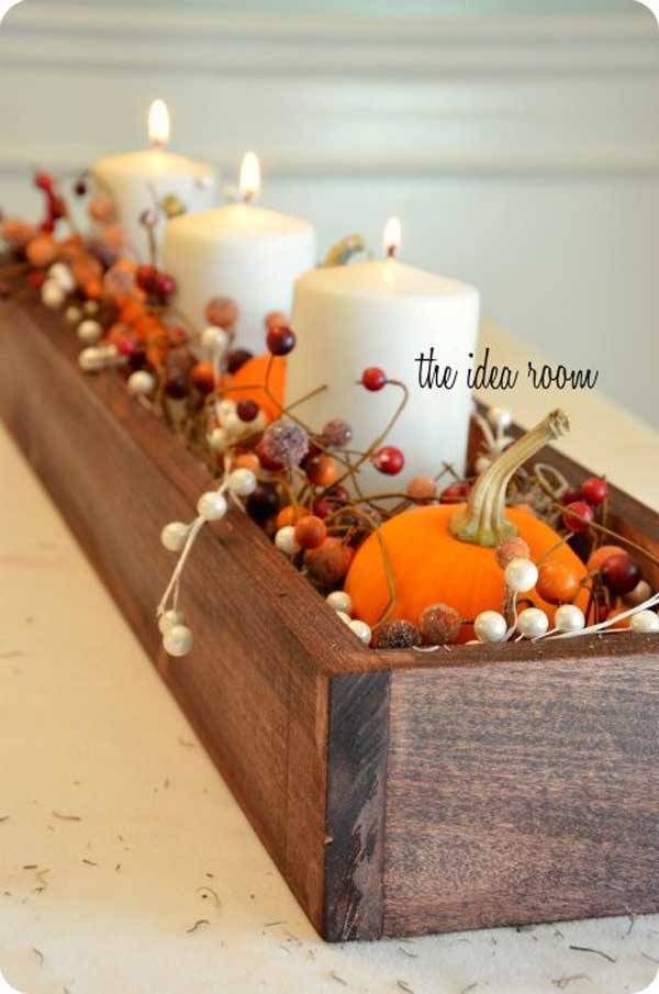 30 Magical DIY Fall Decorations For Your Household homesthetics ideas (12)