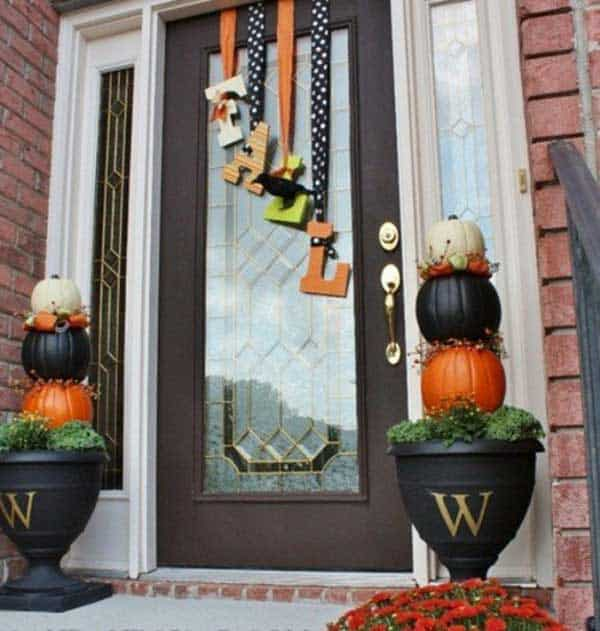 30 Magical DIY Fall Decorations For Your Household homesthetics ideas (19)