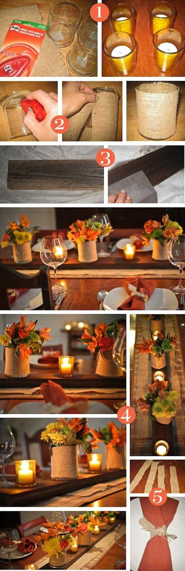 30 Magical DIY Fall Decorations For Your Household homesthetics ideas (20)