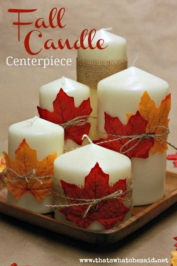 30 Magical DIY Fall Decorations For Your Household homesthetics ideas (25)