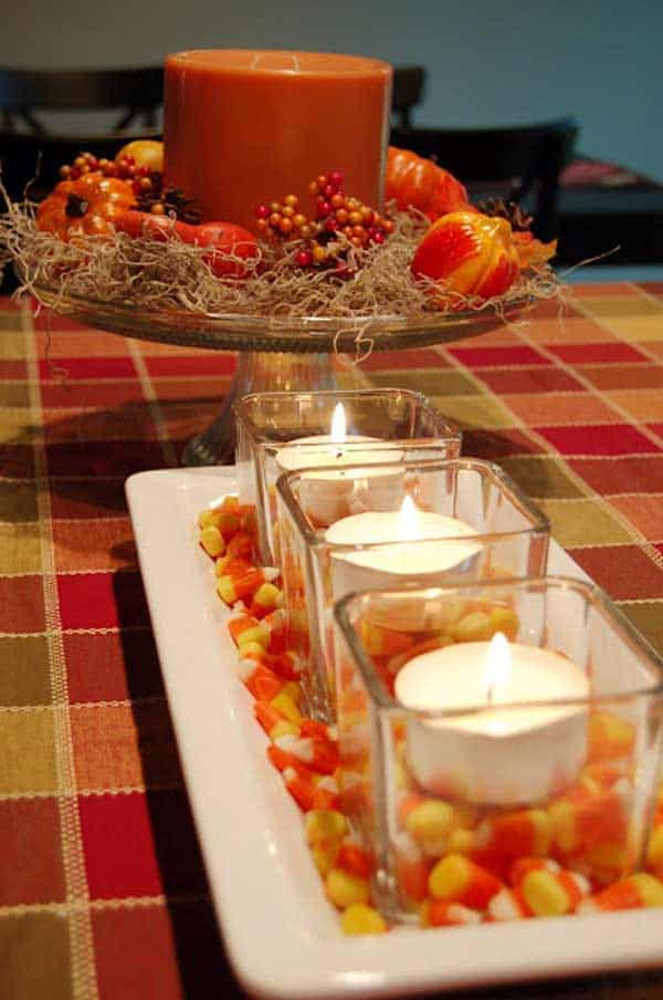 30 Magical DIY Fall Decorations For Your Household homesthetics ideas (7)