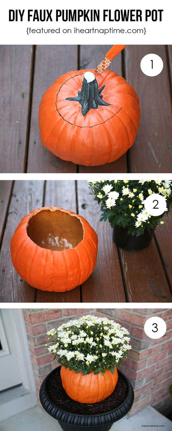 30 Magical DIY Fall Decorations For Your Household homesthetics ideas (9)