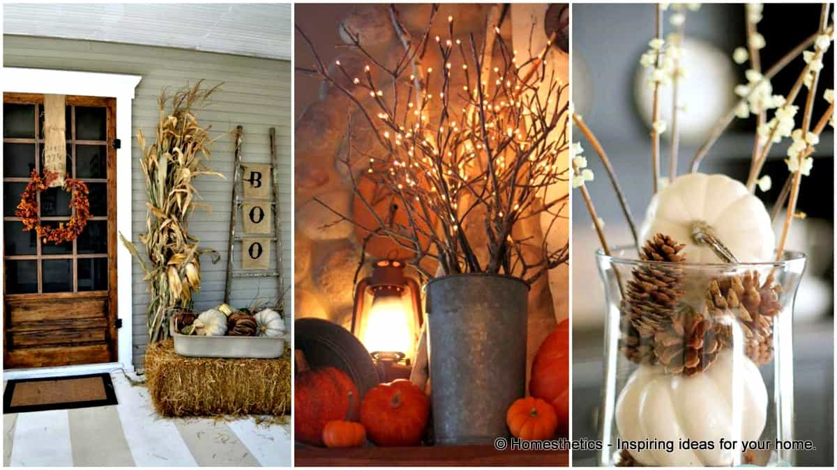 30 Magical Diy Fall Decorations For Your Household