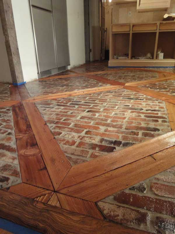 32 highly creative and cool floor designs for your home for Diy wood flooring ideas