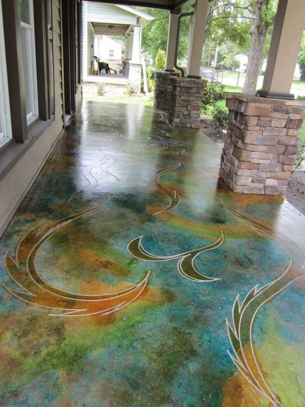 32 Highly Creative and Cool Floor Designs For Your Home and Yard homesthetics design (16)
