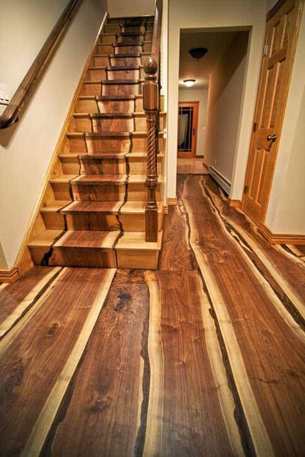 32 highly creative and cool floor designs for your home and yard homesthetics design 21 - Wood Floor Design Ideas