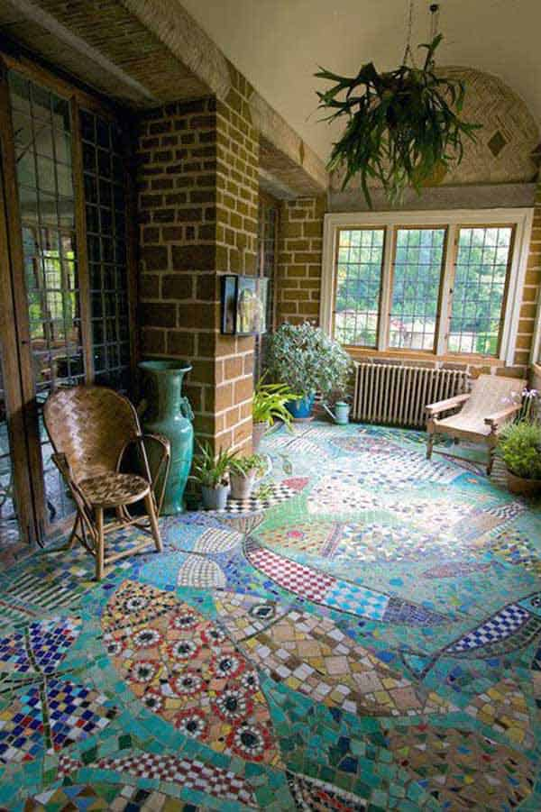 32 Highly Creative and Cool Floor Designs For Your Home and Yard homesthetics design (22)