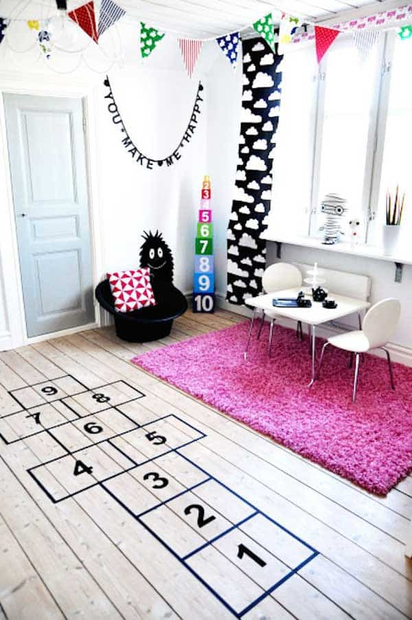 32 Highly Creative And Cool Floor Designs For Your Home And Yard  Homesthetics Design (4