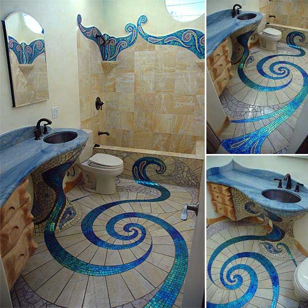 32 Highly Creative and Cool Floor Designs For Your Home and Yard homesthetics design (8)