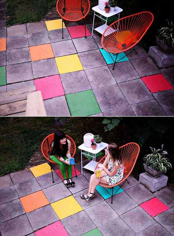 32 Highly Creative and Cool Floor Designs For Your Home and Yard homesthetics design (9)