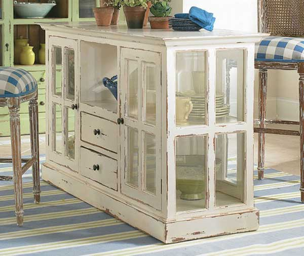 32 Super Neat and Inexpensive Rustic Kitchen Islands to Materialize  homesthetics decor (1)