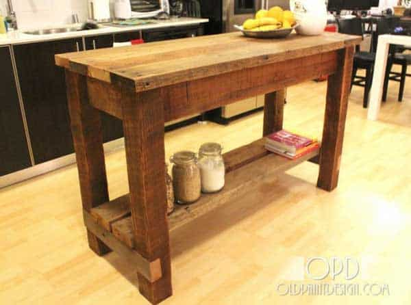 Superieur 32 Super Neat And Inexpensive Rustic Kitchen Islands To Materialize  Homesthetics Decor (10)