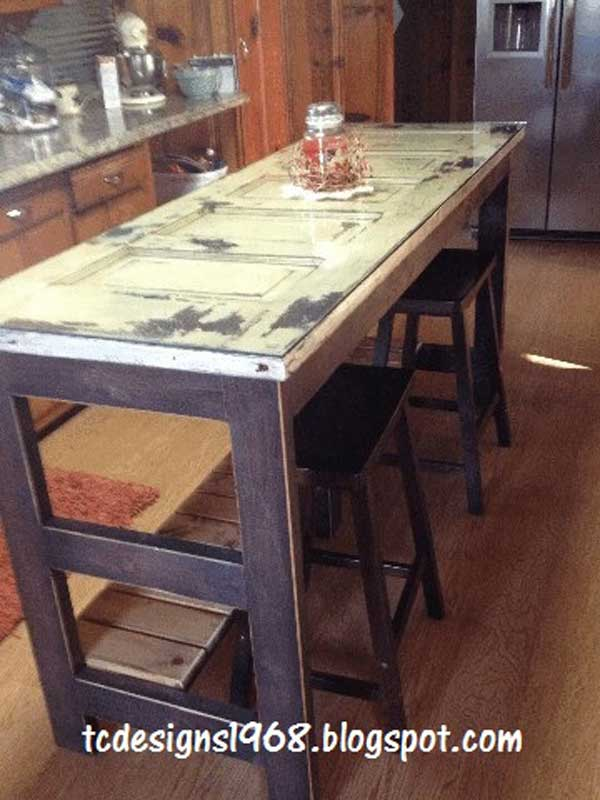 32 Super Neat and Inexpensive Rustic Kitchen Islands to Materialize  homesthetics decor (15)