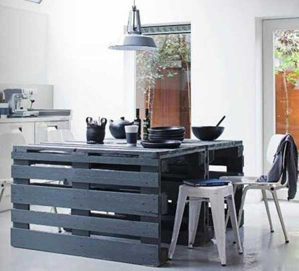32 Super Neat and Inexpensive Rustic Kitchen Islands to Materialize  homesthetics decor (16)